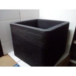 Patio Donica Kubus ryflowana 50x50x40Hcm