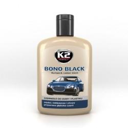 K2 Bono Black czernidło do gumy i plastik