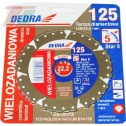 Tarcza diamentowa uniwersalna Dedra H1083