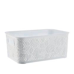 Koszyk 10L FANCY biały