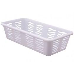 Koszyk Zebra mały Biały Branq