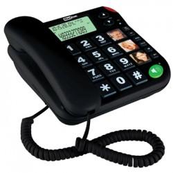 MaxCom KXT480BB, Telefon Przewodowy, Czarny