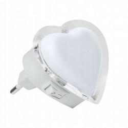 lampka wtykowa Serce LED Polux- 0,4W